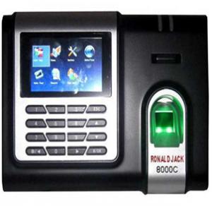 máy chấm công thẻ cảm ứng ronald jack 8000c