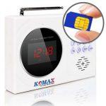 Komax KM-901G – Thiết bị chống trộm dùng sim điện thoại di động