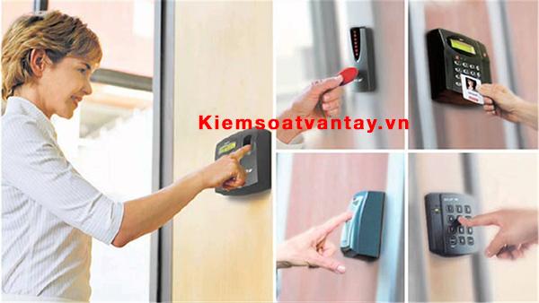 Các thiết bị kiểm soát cửa ra vào phổ biến