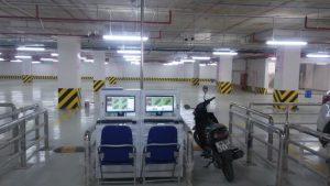 Lắp đặt hệ thống bãi đỗ xe thông minh tại VinCom Vĩnh Long
