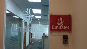 Lắp đặt máy chấm công VIRDI AC 2100 tại tập đoàn Emirates