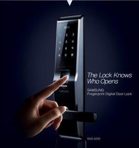 5 lý do nên mua khóa cửa vân tay Samsung