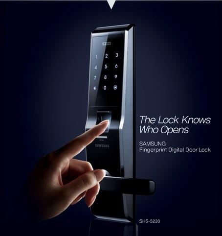 5 lý do nên mua khóa cửa vân tay Samsung - Megatech
