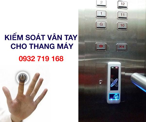Công ty chuyên thi công hệ thống kiểm soát vân tay cho thang máy
