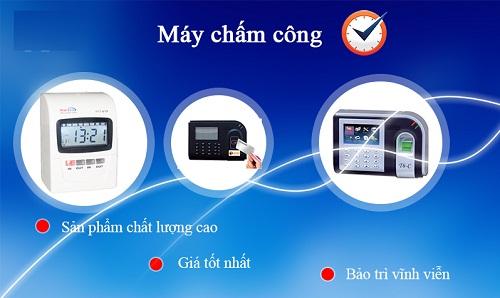 Địa chỉ bán máy chấm công TP HCM uy tín