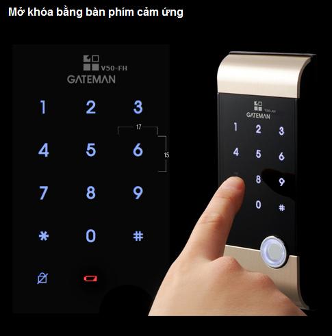 khóa thẻ GATEMAN V50 1