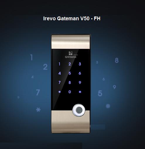 khóa thẻ Gateman V50 fh