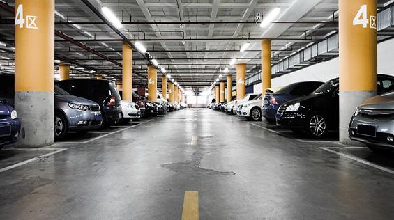 Mô hình bãi xe ô tô tự động thông minh