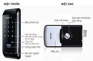 Khóa cửa điện tử Samsung SHS 2920