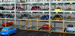 Kiểm soát hệ thống bãi đỗ xe tự động