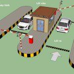 Quy trình vận hành hệ thống kiểm soát bãi đỗ xe tự động