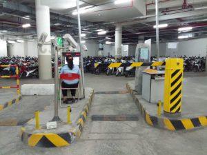 Quy trình vận hành của kiểm soát bãi đỗ xe tự động