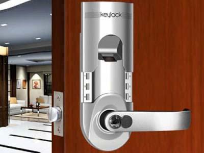 An toàn hiện đại với khóa cửa vân tay
