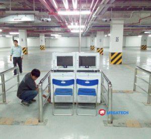 Lắp đặt hệ thống kiểm soát ra vào cho bãi đỗ xe Vincom tại trà vinh