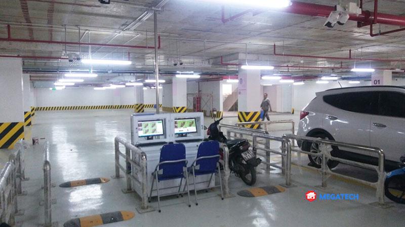 Lắp đặt hệ thống quản lý bãi đỗ xe vincom long an