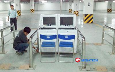 Lắp đặt hệ thống quản lý bãi xe vincom tại trà vinh