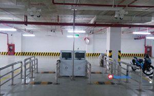Lắp đặt hệ thống kiểm soát ra vào cho bãi đỗ xe tại Long An