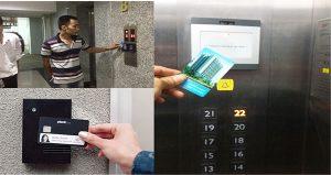 Cung cấp và lắp đặt thiết bị kiểm soát thang máy chung cư Babylon