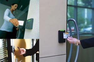 Hệ thống kiểm soát cửa ra vào cho tòa nhà chung cư