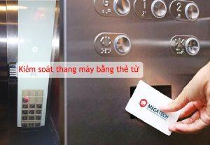 Kiểm soát thang máy bằng thẻ từ thông minh, chuyên nghiệp
