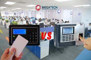 So sánh ưu nhược điểm của thiết bị kiểm soát vân tay và thẻ từ