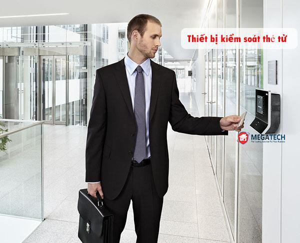 thiết bị kiểm soát ra vào bằng thẻ từ tại hà nội