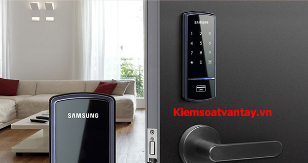 khóa cửa điện tử samsung