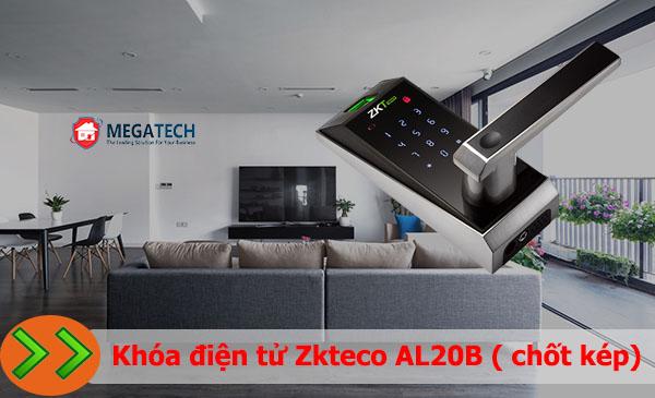 Khóa cửa vân tay Zkteco AL20B (chốt kép)