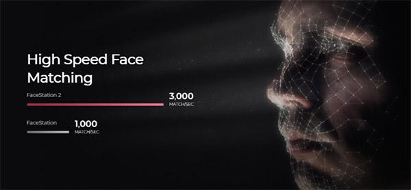 Facestation 2 với khả năng chứng thực khuôn mặt tốc độ cao