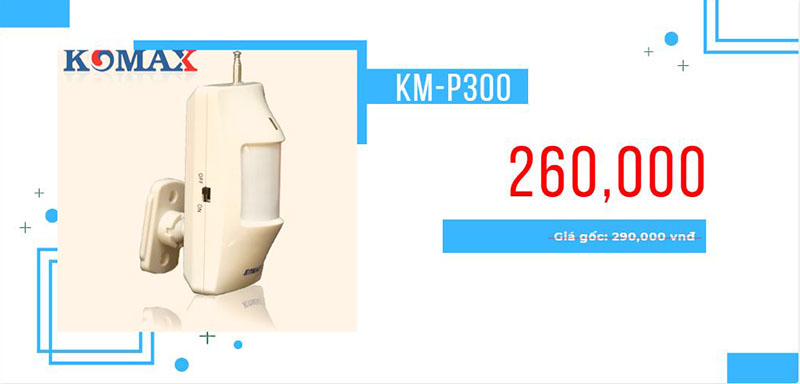 Cảm biến hồng ngoại KM-P300