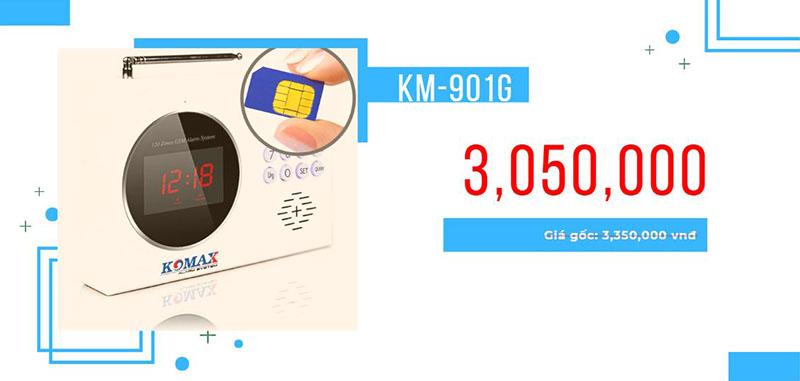 Báo trộm dùng sim KM-901G