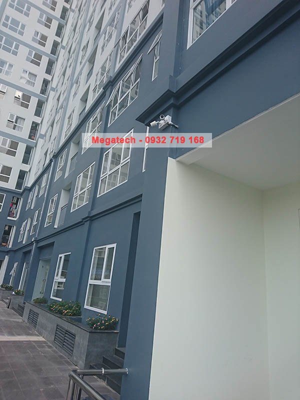 Lắp đặt hệ thống camera an ninh cho chung cư Sài gòn Gateway