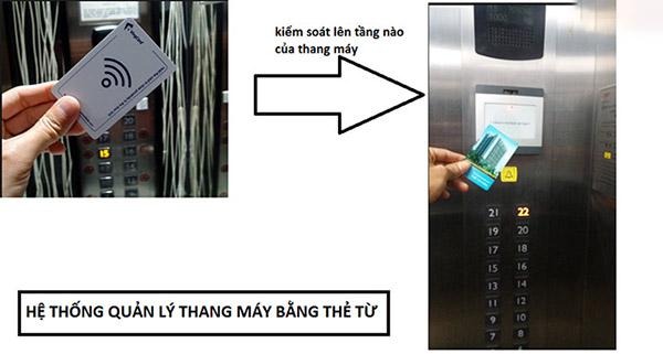 Lắp đặt hệ thống kiểm soát ra vào thang máy
