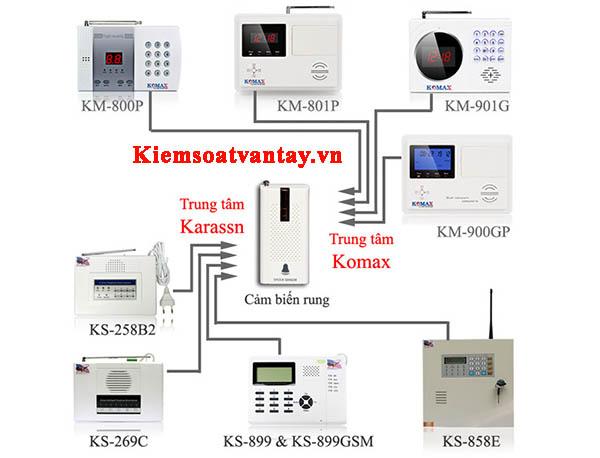 Cảm biến chấn động cao cấp komax KM-21R