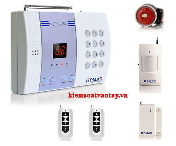 Hệ thống báo trộm không dây Komax KM-800P