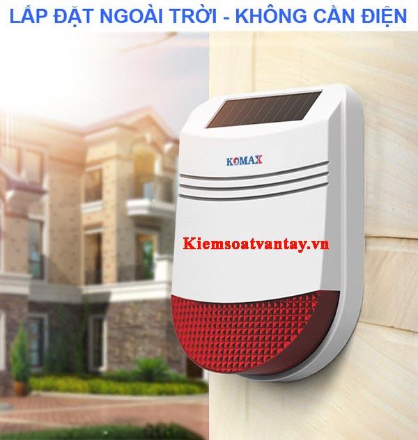 Còi hú không dây đa chức năng Komax KM-80S