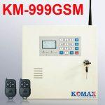 Trung tâm báo trộm dùng Sim và LINE Komax KM-999GSM