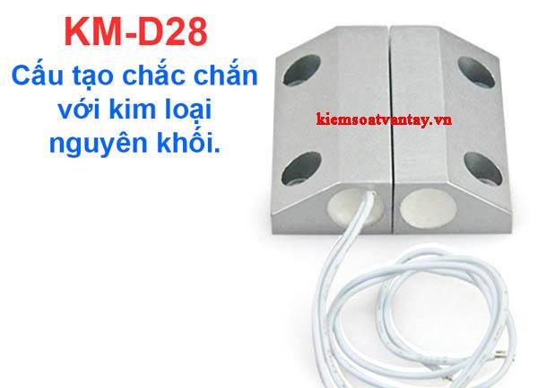 Công tắc từ cửa sắt có dây Komax KM-D28