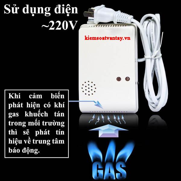 Đầu dò gas không dây Komax KM-G32W