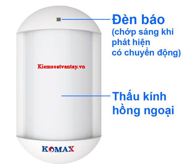 Mắt hồng ngoại chống báo động giả không dây Komax KM-P600