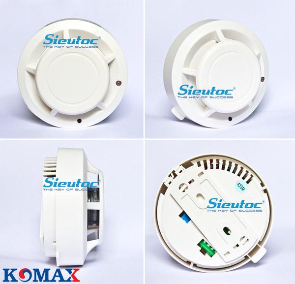 Đầu dò khói không dây đa năng Komax KM-S52W