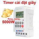 Công tắc hẹn giờ điện tử Komax KM-SW02