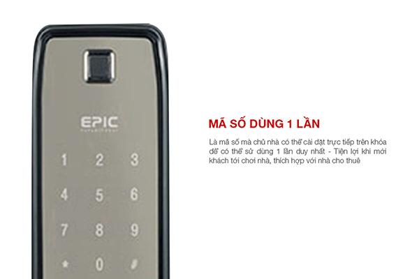 Epic ES-F9000K sử dụng mã số tiền hàng
