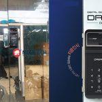 Cung cấp và lắp khóa cửa kính vân tay Dream DR35FG-S tại Quận 10