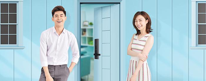 Khóa điện tử Samsung SHP-DH537-9
