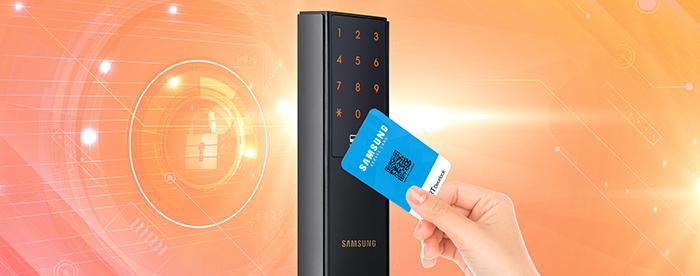 Khóa điện tử Samsung SHP-DH537-8