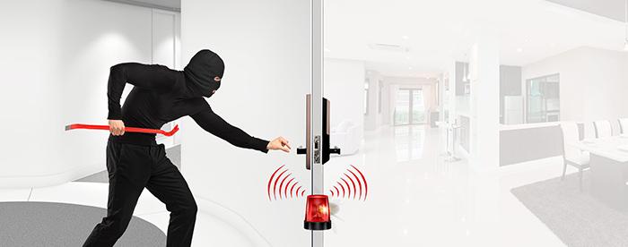 Khóa điện tử Samsung SHP-DH538 chống trộm