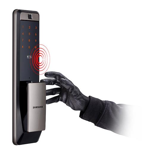 Khóa điện tử Samsung SHP-DP609 với công nghệ vân tay mới