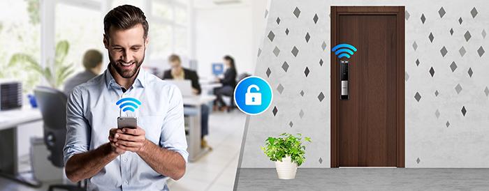 Khóa điện tử Samsung SHP-DP609 bảo mật
