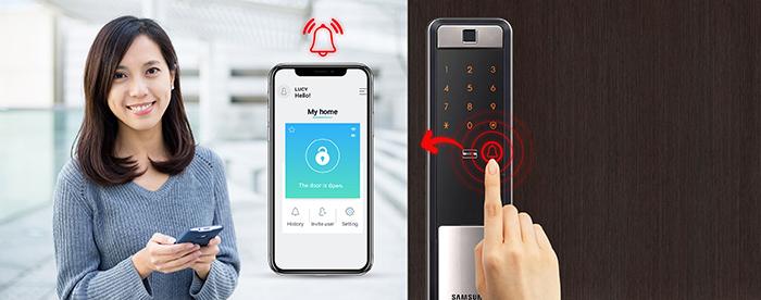 khóa thông minh Samsung SHP-DP609